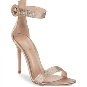 Gianvito Rossi Crystal Sandal Wedding Shoes